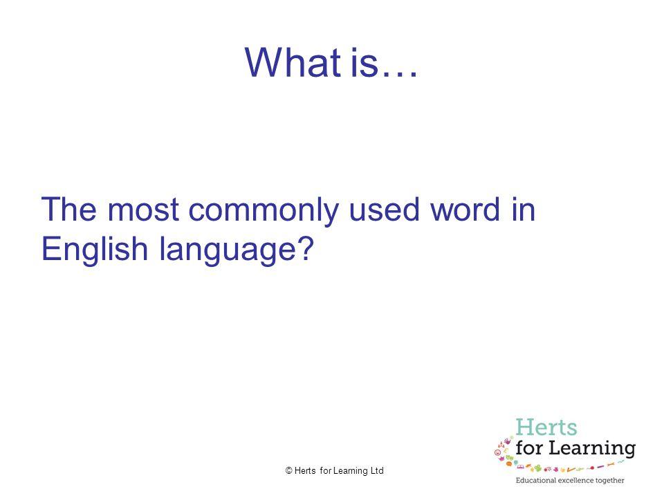 © Herts for Learning Ltd Hmm