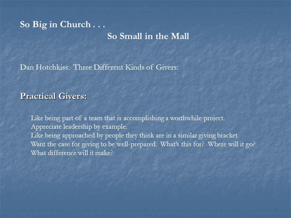 So Big in Church...