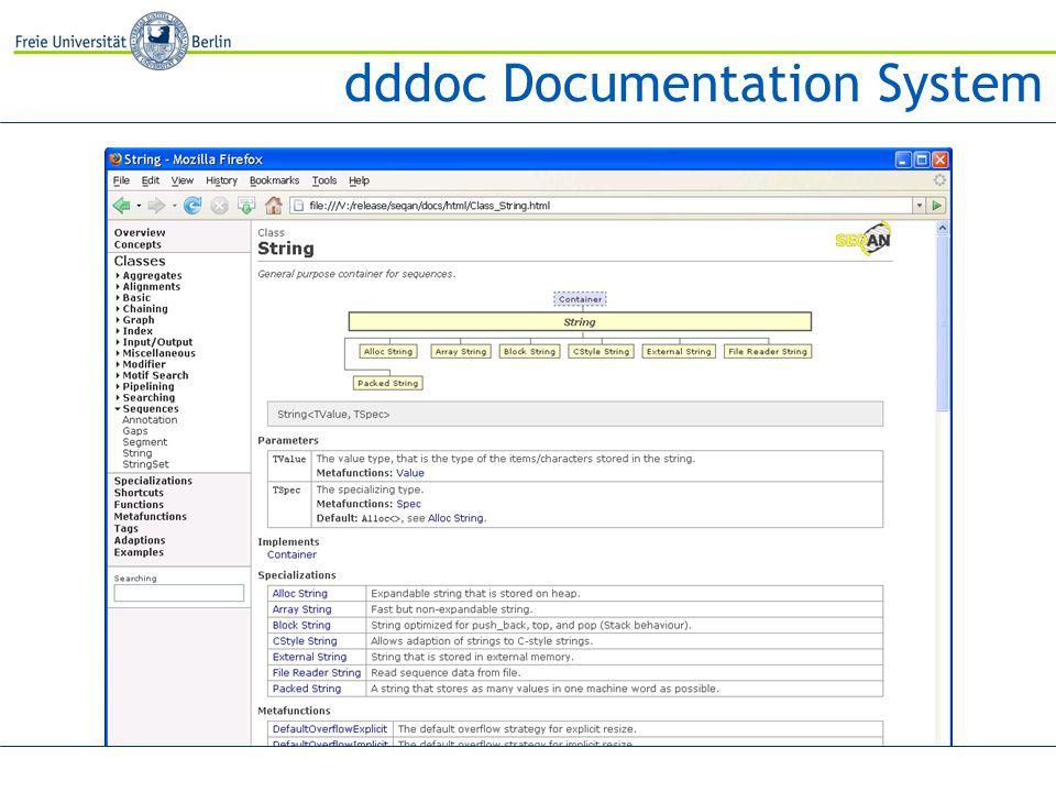 dddoc Documentation System