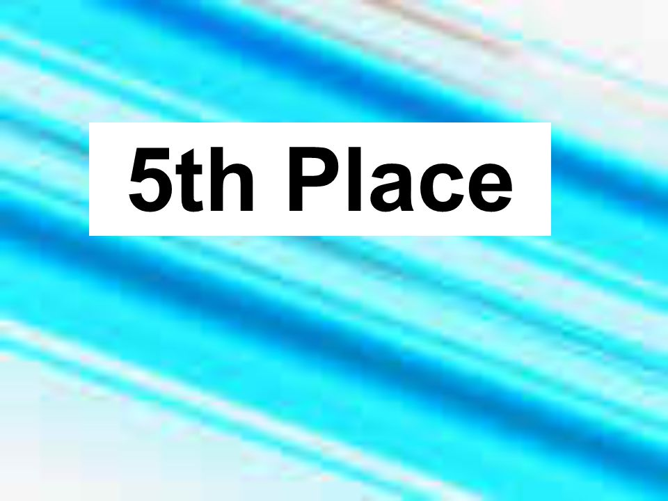 5th Place