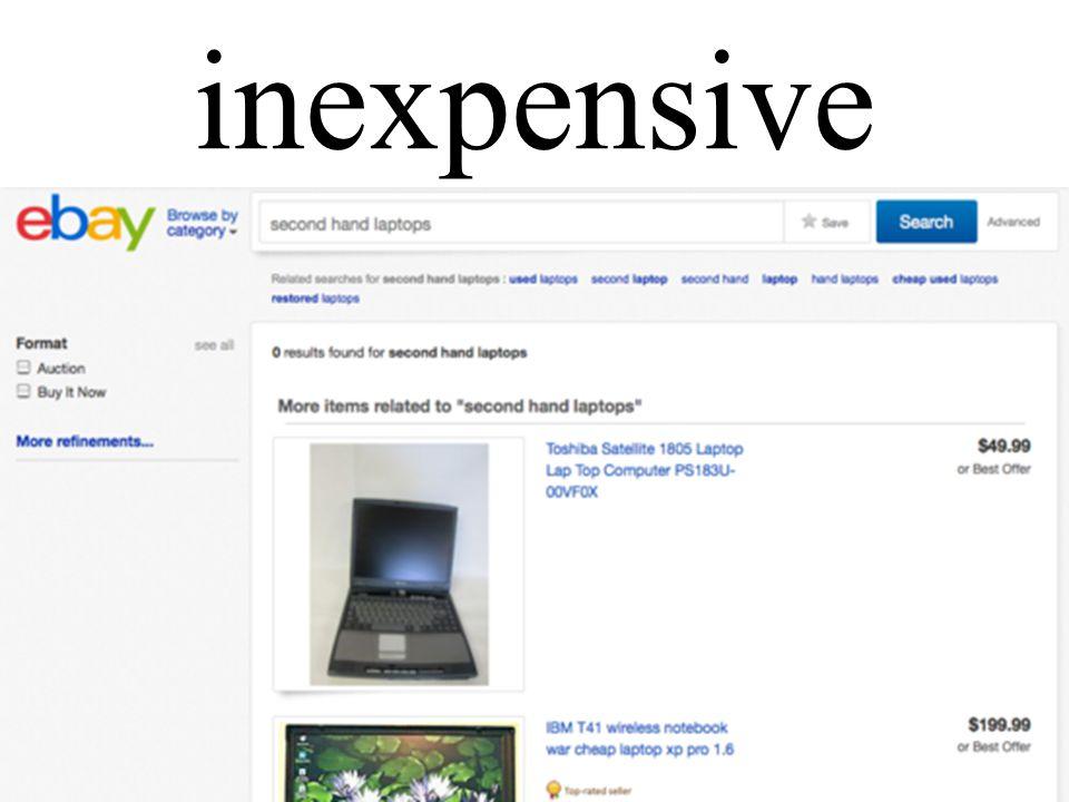 inexpensive