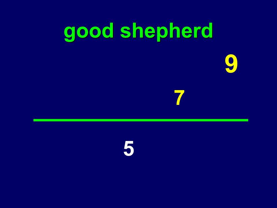 good shepherd 7 9 5