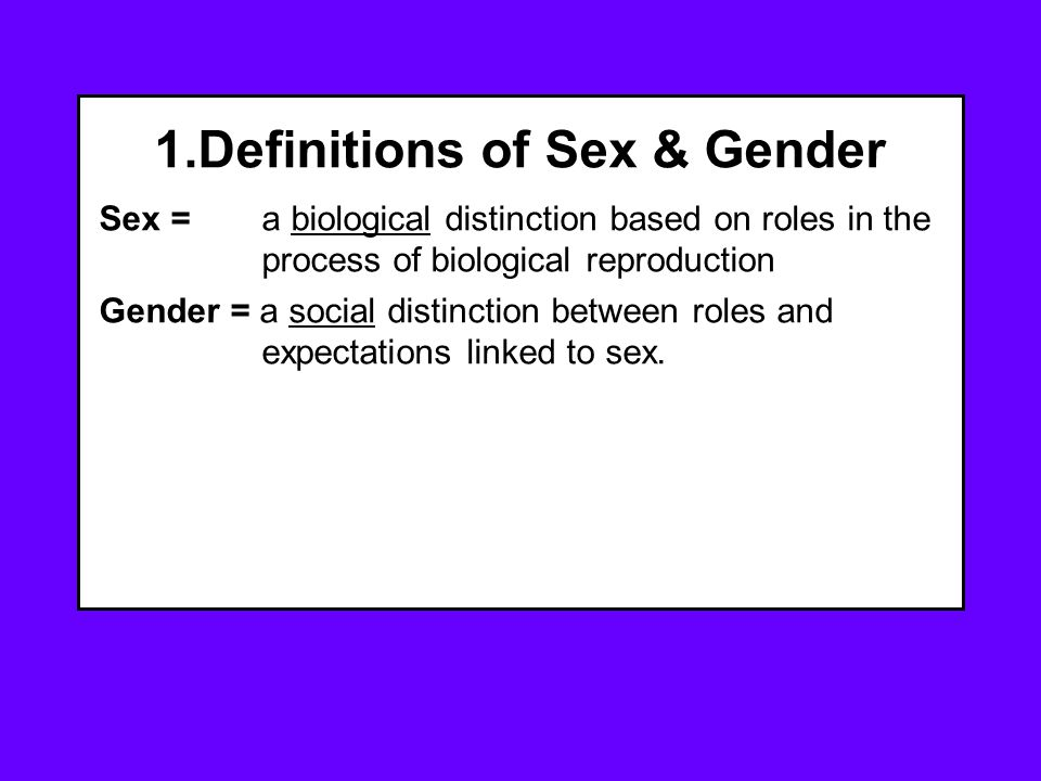 7. Sexuality