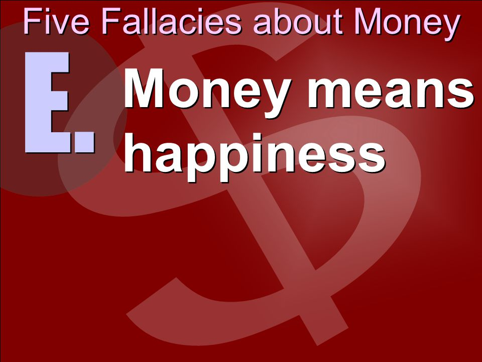 Stay away from the love of money; be satisfied with what you have.