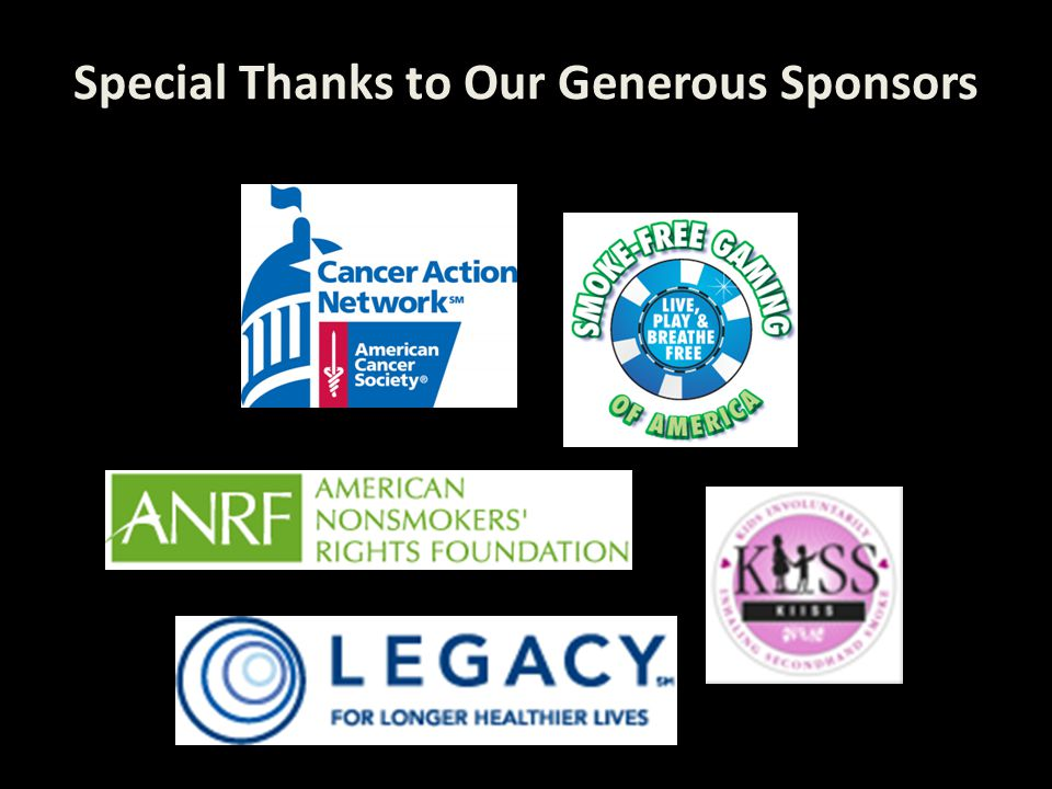 Special Thanks to Our Generous Sponsors Special Thanks to Our Generous Sponsors: