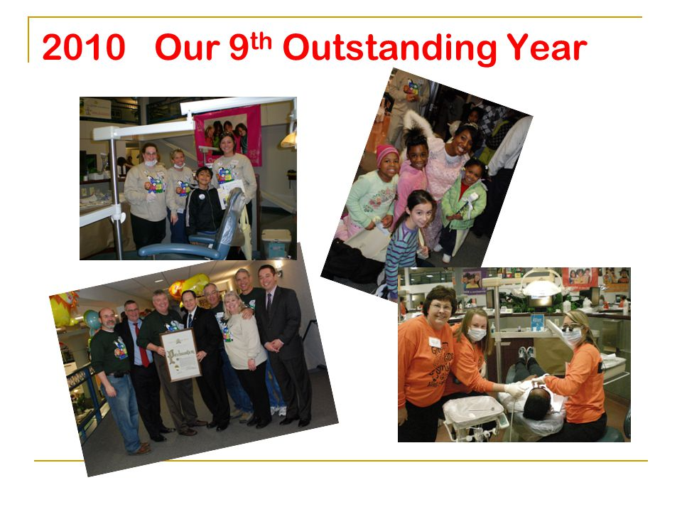 2010 Our 9 th Outstanding Year Officers, Board of Directors, Executive Director Dr.