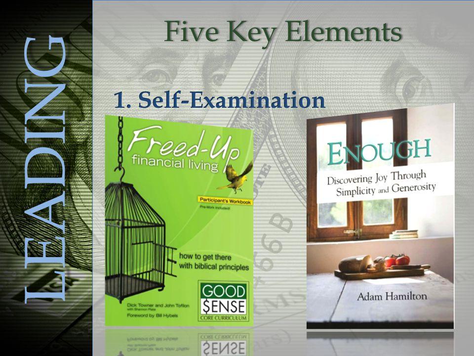 Five Key ElementsFive Key Elements LEADING