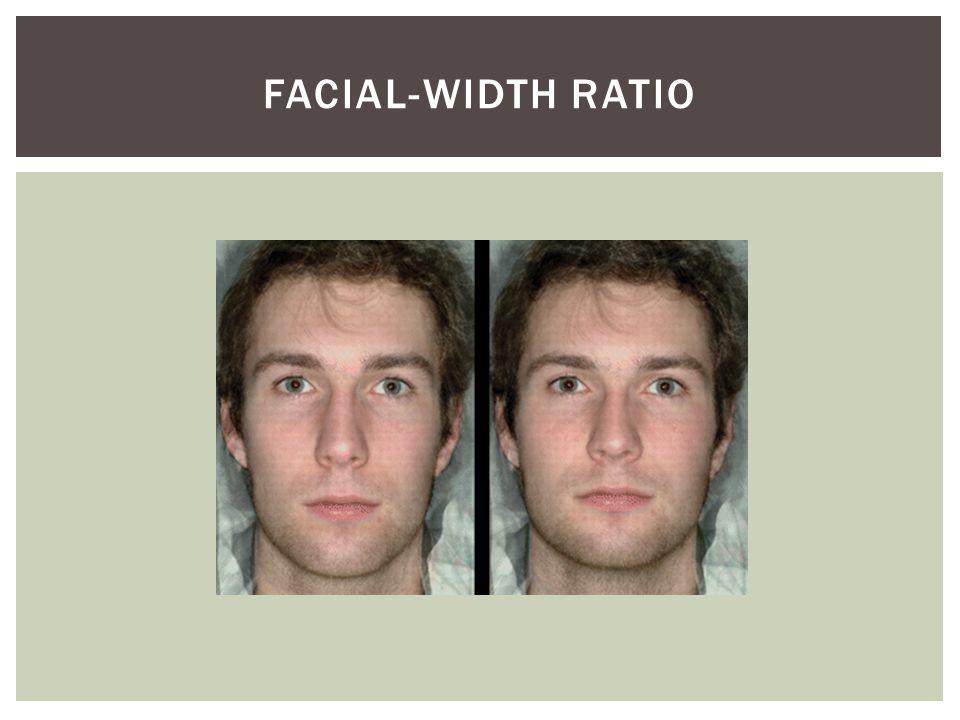 FACIAL-WIDTH RATIO