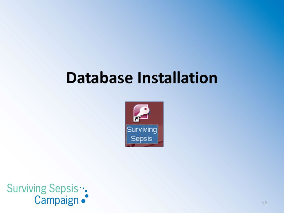 Database Installation 12