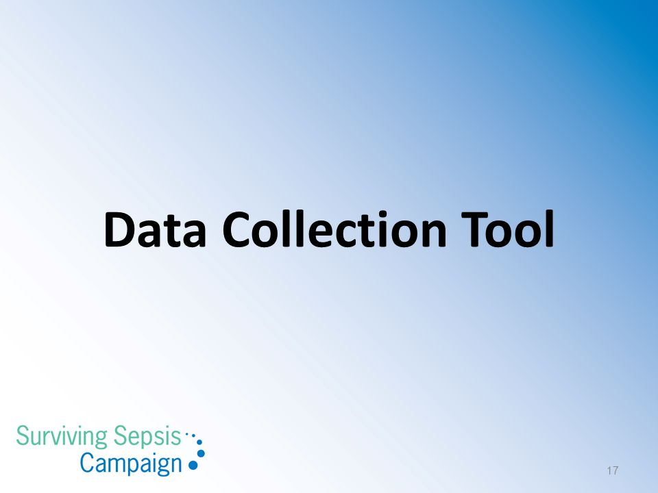 Data Collection Tool 17