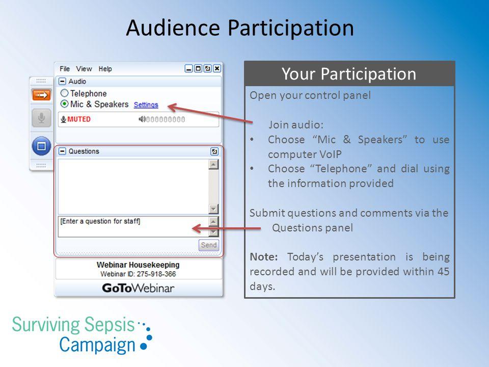 Surviving Sepsis Campaign Database download instructions http://sscdb.sccm.org 13