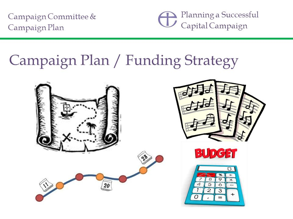 Planning a Successful Capital Campaign Campaign Plan / Funding Strategy Campaign Committee & Campaign Plan