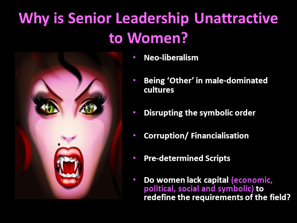 Why is Senior Leadership Unattractive to Women.