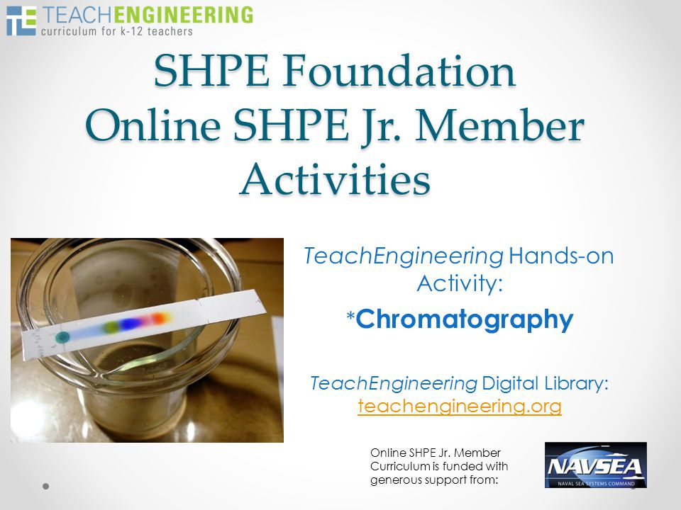 SHPE Foundation Online SHPE Jr.