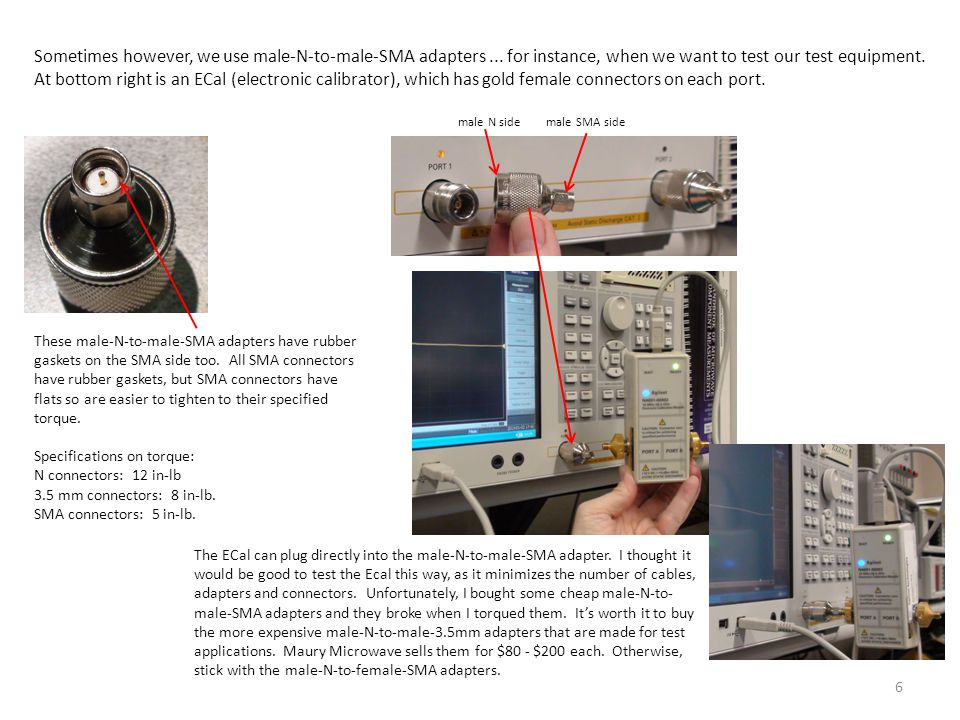 A Third Cable Test – the SWR Test This is probably the best test.