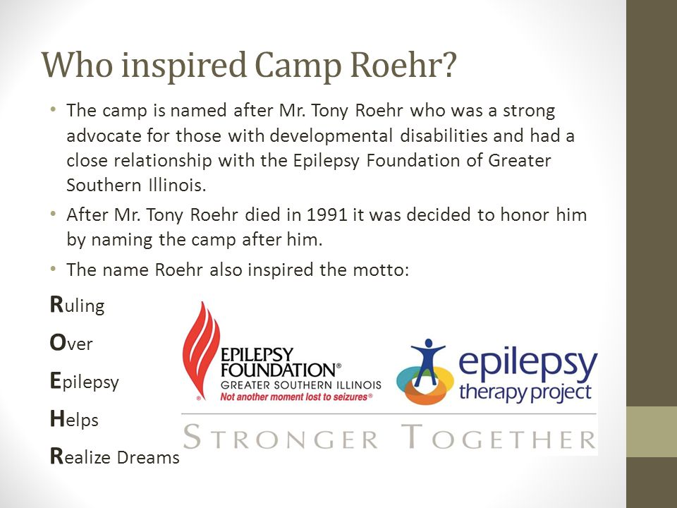 Where Donations Go Most donations to Camp Roehr are used for scholarships to allow more children to attend camp.