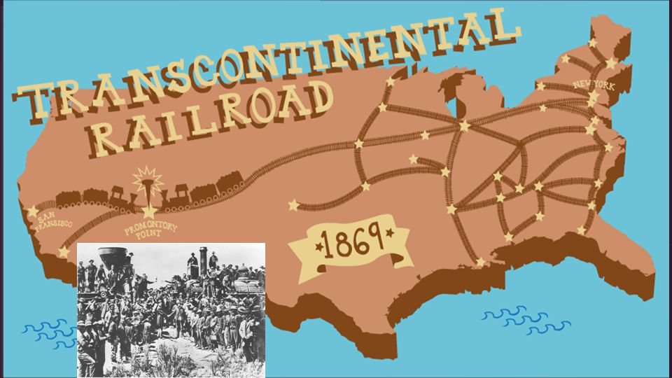 What a transcontinental railroad means...