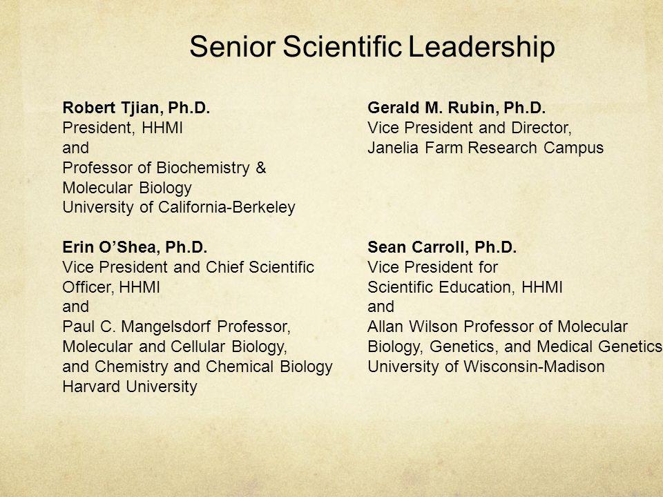 Robert Tjian, Ph.D.
