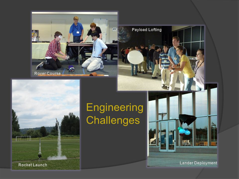 Engineering Challenges Rocket Launch Lander Deployment Payload Lofting Rover Course