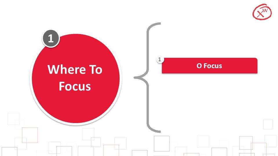 1 1 Where To Focus O Focus 1
