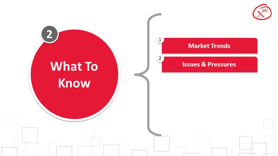 2 2 What To Know Market Trends 1 Issues & Pressures 2