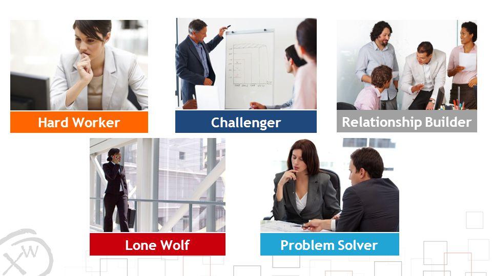 Hard Worker Lone Wolf Challenger Relationship Builder Problem Solver