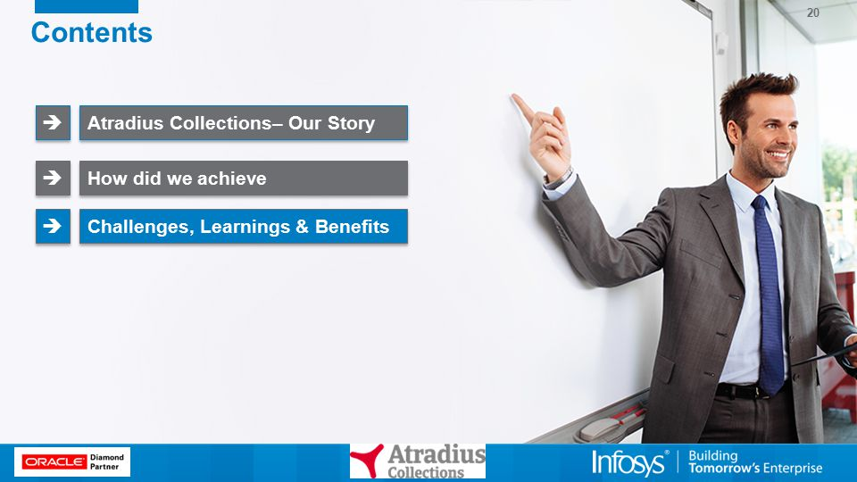 20 Contents Atradius Collections– Our Story   How did we achieve   Challenges, Learnings & Benefits  