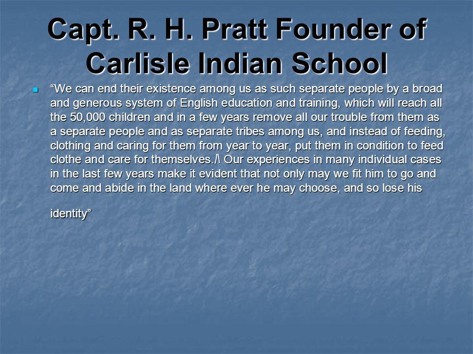 Capt. R. H.