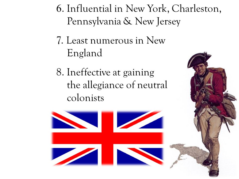 6. Influential in New York, Charleston, Pennsylvania & New Jersey 7.