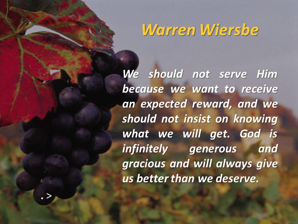 Warren Wiersbe.