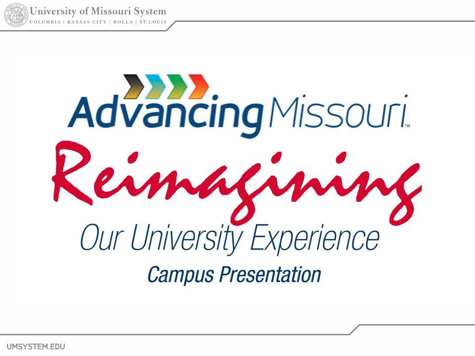 1 Reimagining Our University Experience Campus Presentation