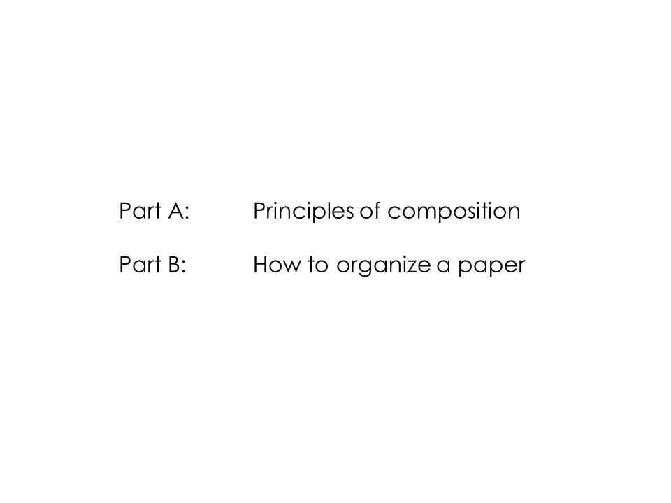 Peyton-Jones: How to write a great research paper The Abstract Be brief, precise, and factual: Sentence 1: the problem.