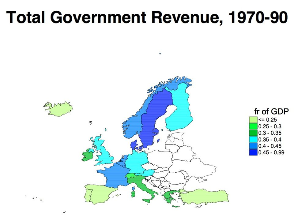 Regional Differences in Public Spending (O.E.C.D.Social Expenditure Database) O.E.C.D.