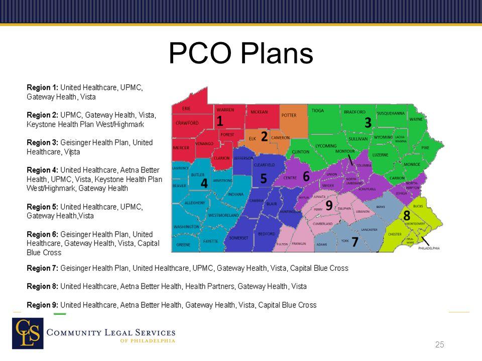 PCO Plans 25