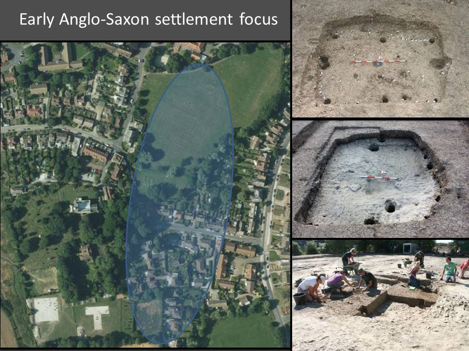 Early Anglo-Saxon settlement focus
