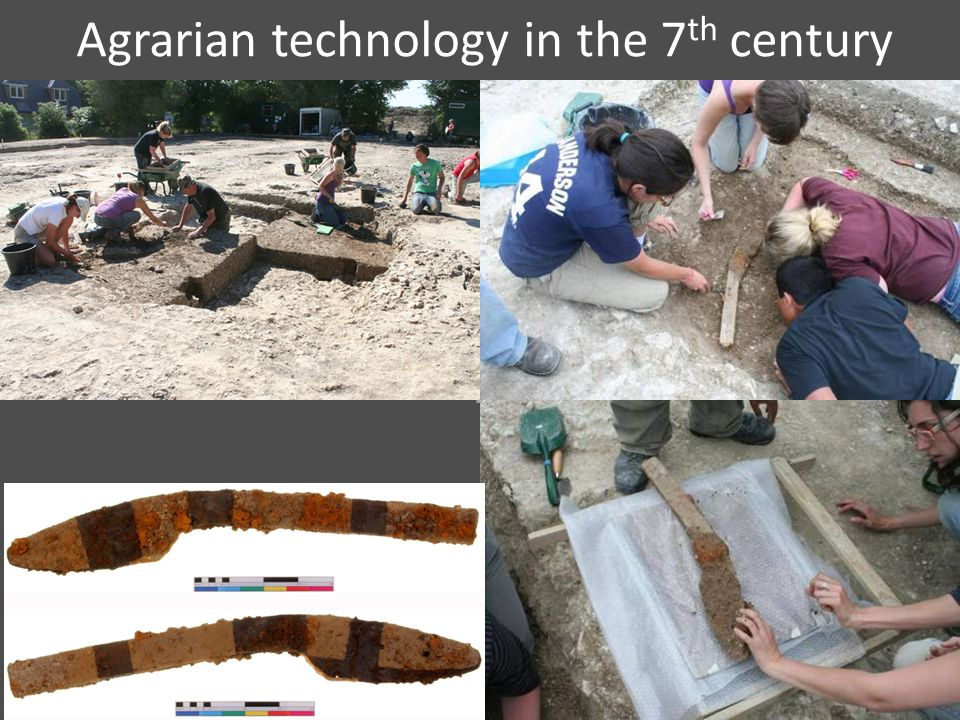 Agrarian technology in the 7 th century