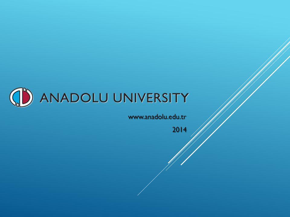 www.anadolu.edu.tr 2014