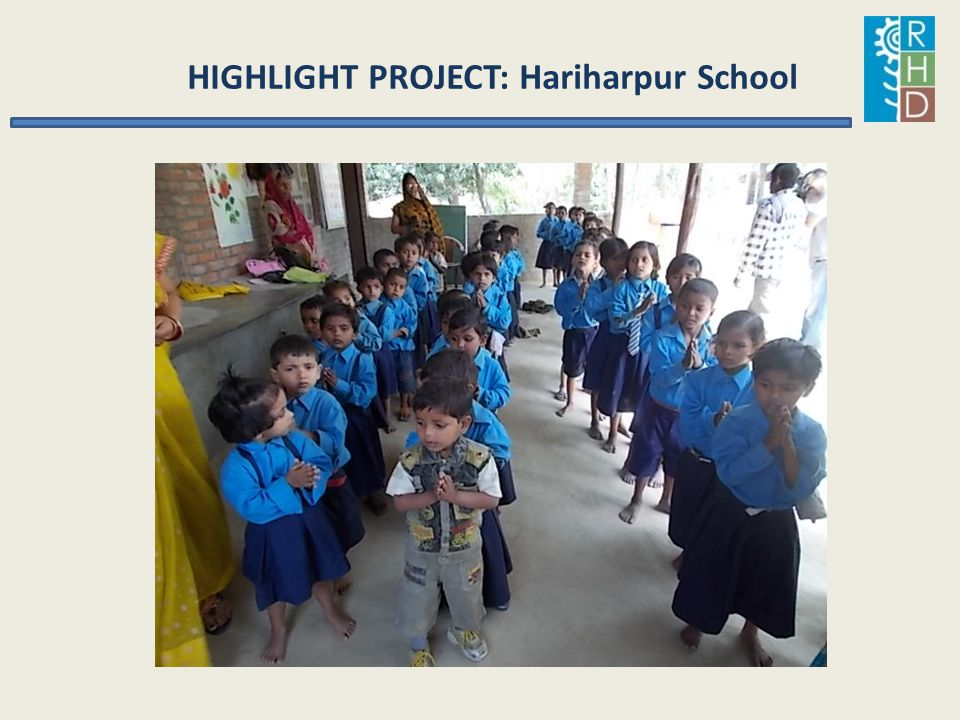 HIGHLIGHT PROJECT: Hariharpur School