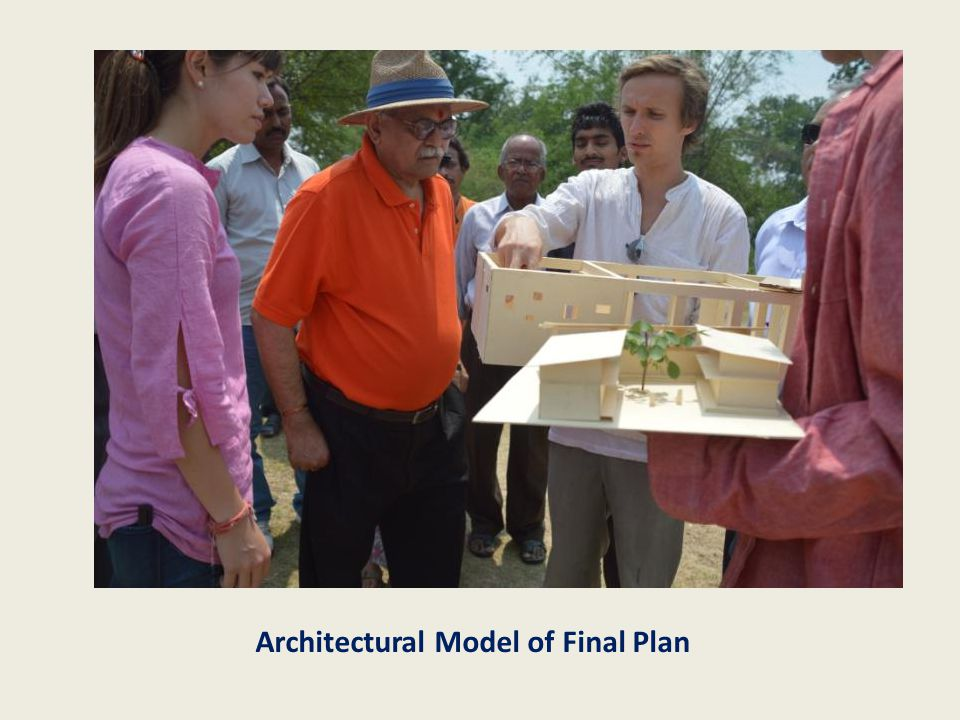 Architectural Model of Final Plan