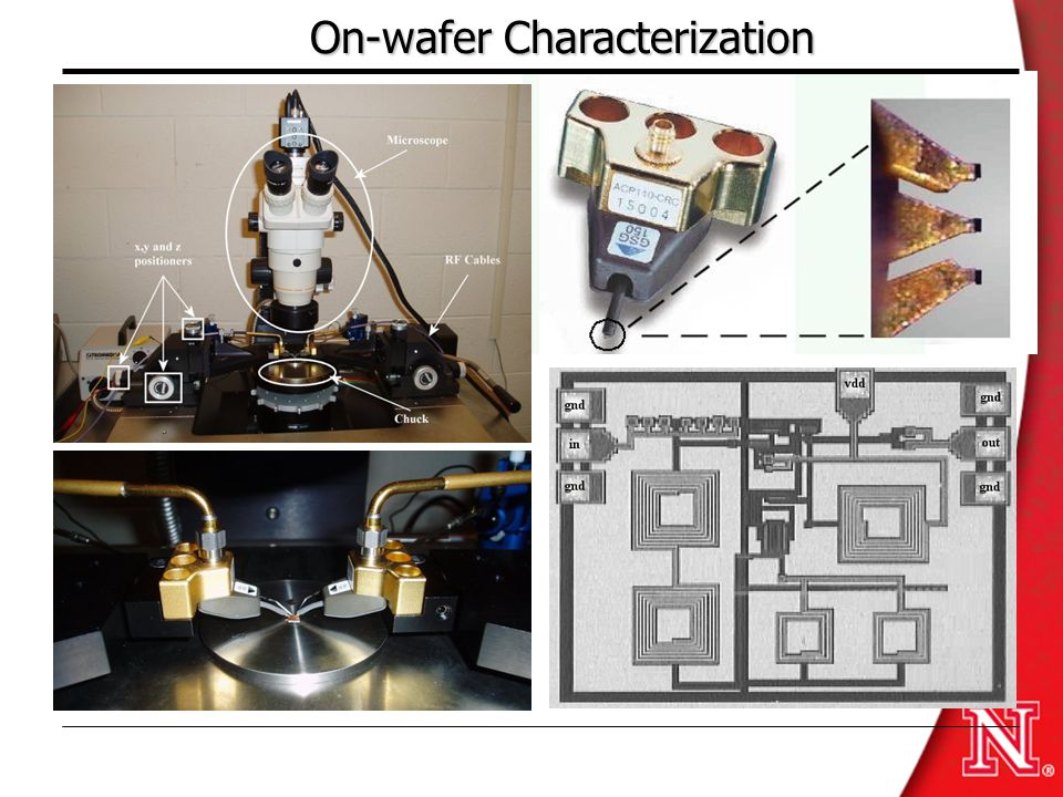 On-wafer Characterization