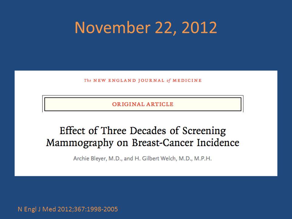 November 22, 2012 N Engl J Med 2012;367:1998-2005