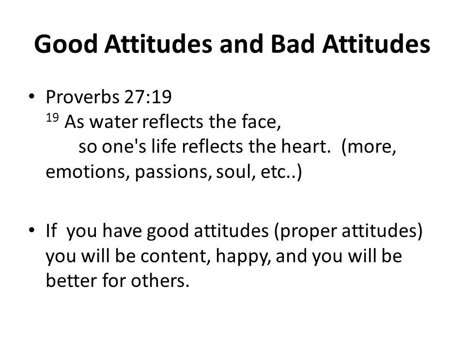 Where do Attitudes come from.