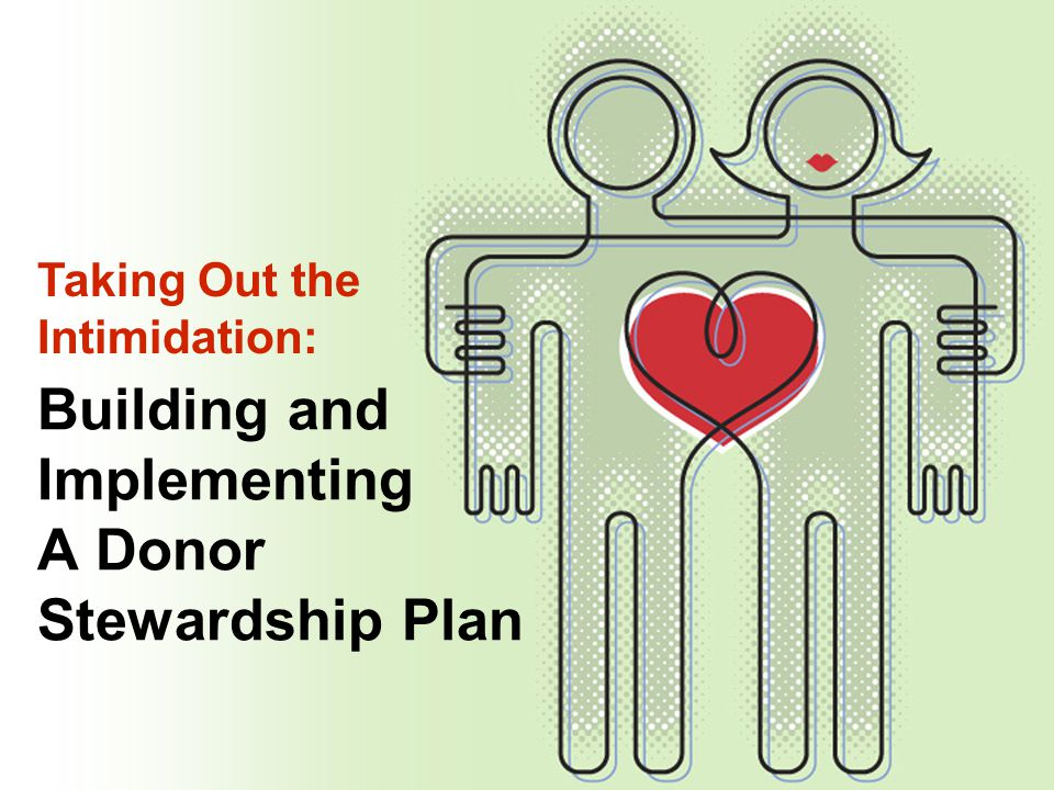 Building and Implementing A Donor Stewardship Plan Taking Out the Intimidation: