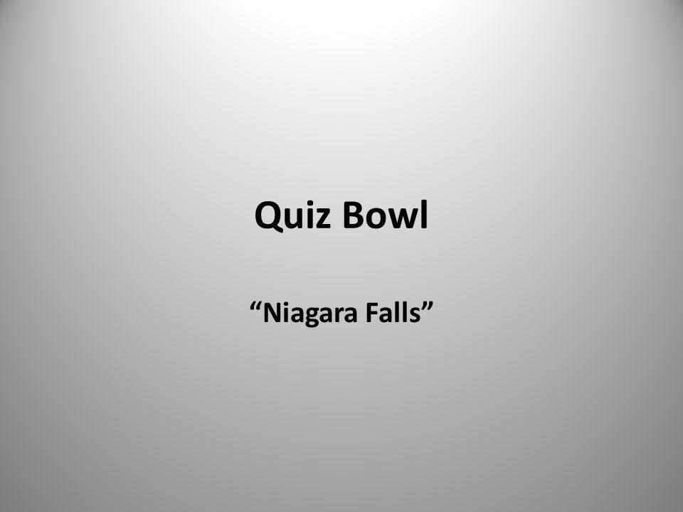 Quiz Bowl Niagara Falls
