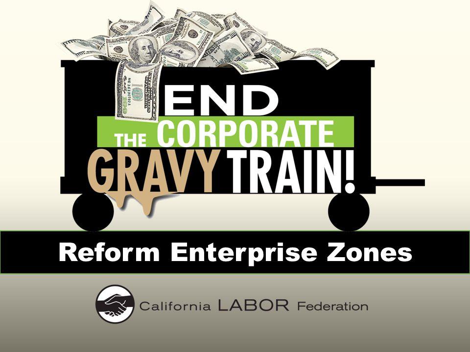 End the Corporate Gravy Train.
