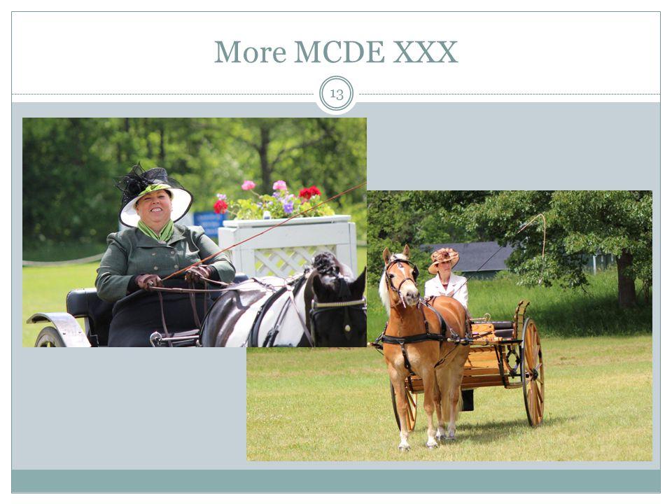 More MCDE XXX 13