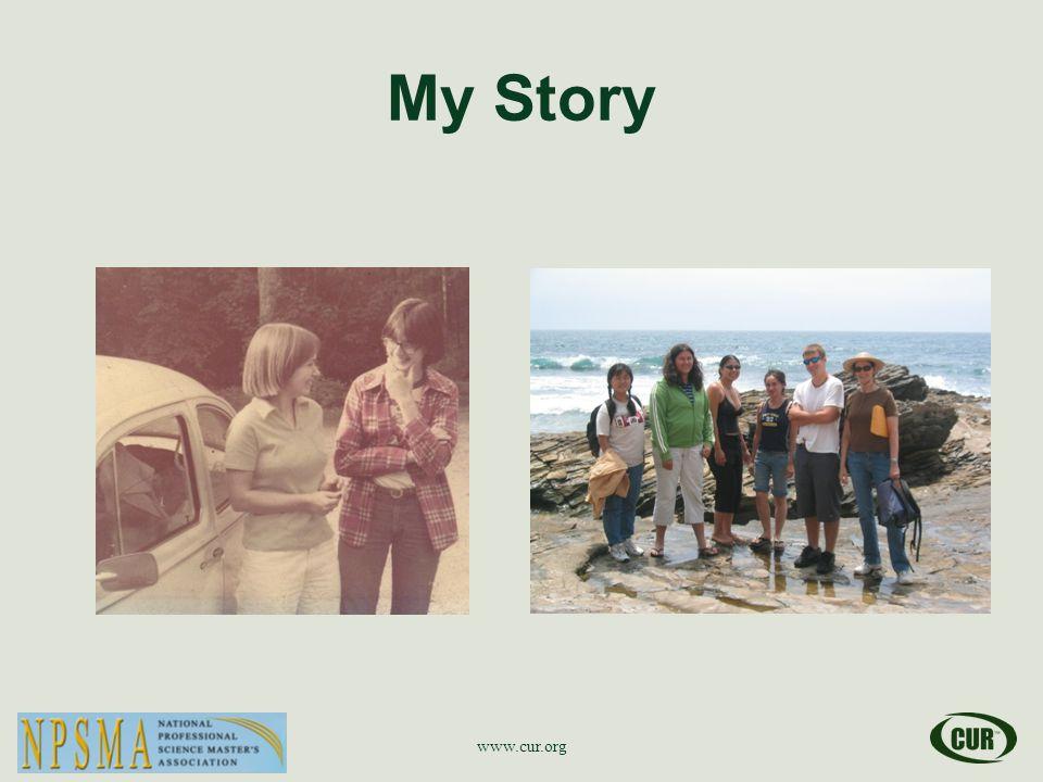 My Story www.cur.org