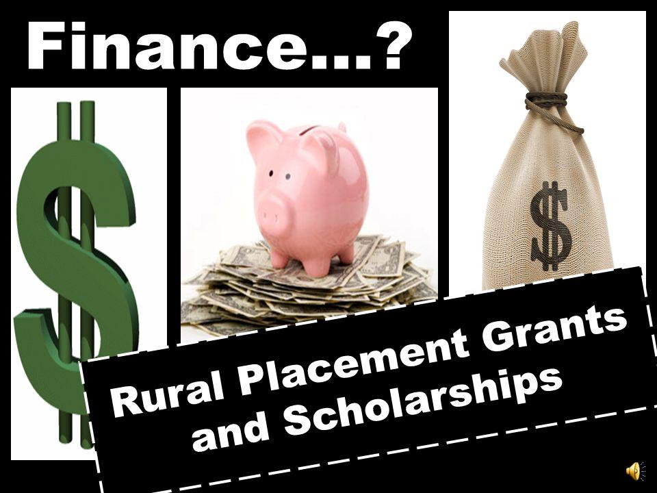 Finance…?