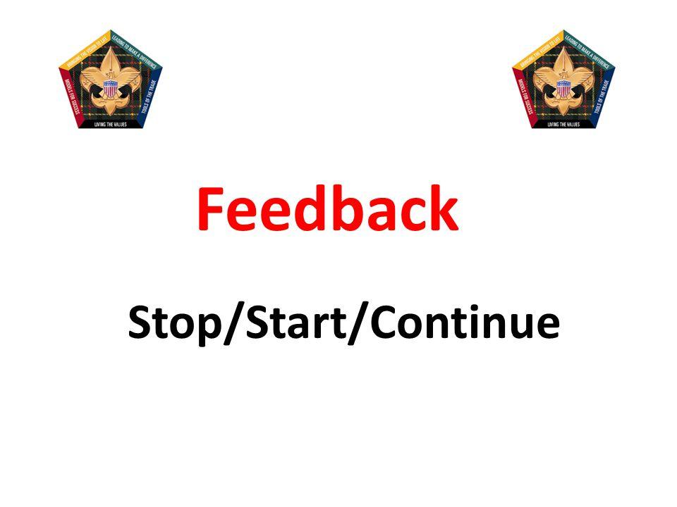 So, how do we get feedback.