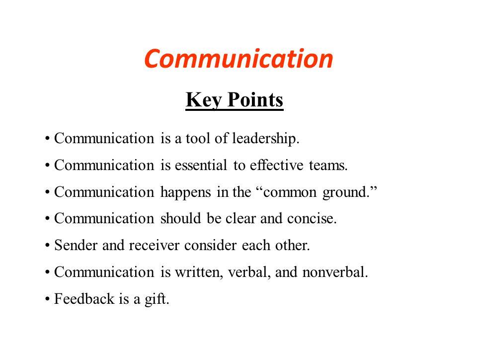 Great Leaders are GreatGreat Leaders are Great Communicators Communicators